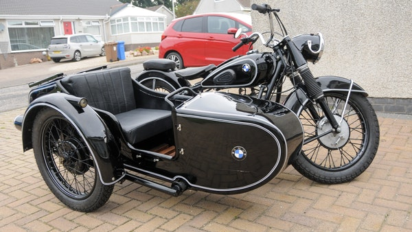 1953 BMW R68 with Royal Seitenwagen Sidecar For Sale (picture 1 of 99)