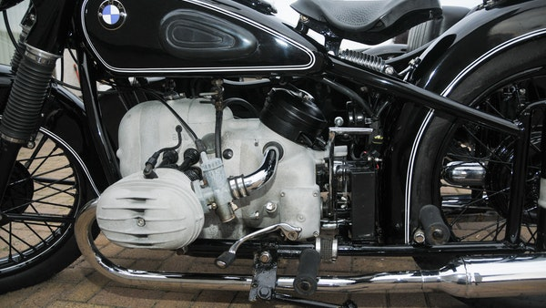 1953 BMW R68 with Royal Seitenwagen Sidecar For Sale (picture 60 of 99)