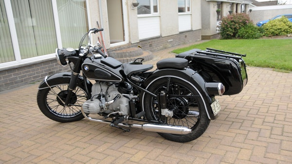 1953 BMW R68 with Royal Seitenwagen Sidecar For Sale (picture 9 of 99)