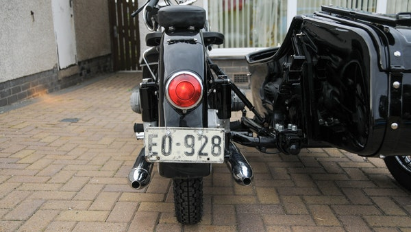 1953 BMW R68 with Royal Seitenwagen Sidecar For Sale (picture 45 of 99)
