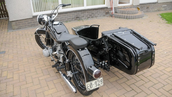 1953 BMW R68 with Royal Seitenwagen Sidecar For Sale (picture 10 of 99)
