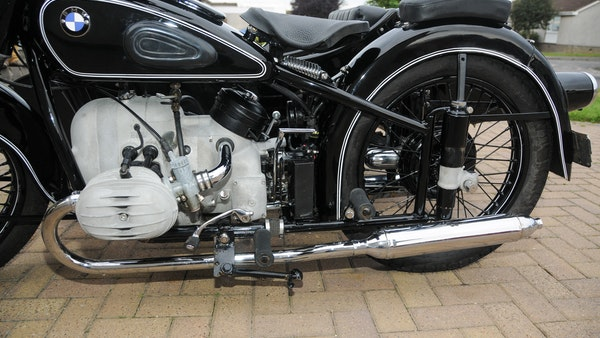 1953 BMW R68 with Royal Seitenwagen Sidecar For Sale (picture 63 of 99)