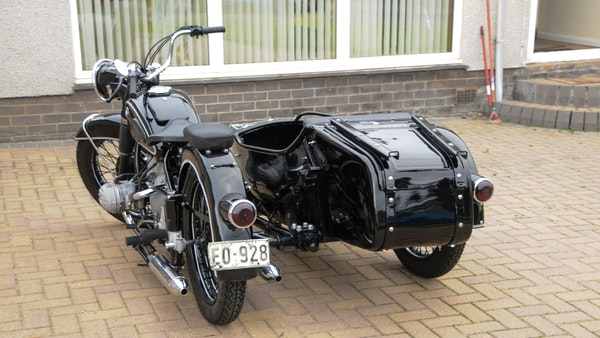 1953 BMW R68 with Royal Seitenwagen Sidecar For Sale (picture 3 of 99)
