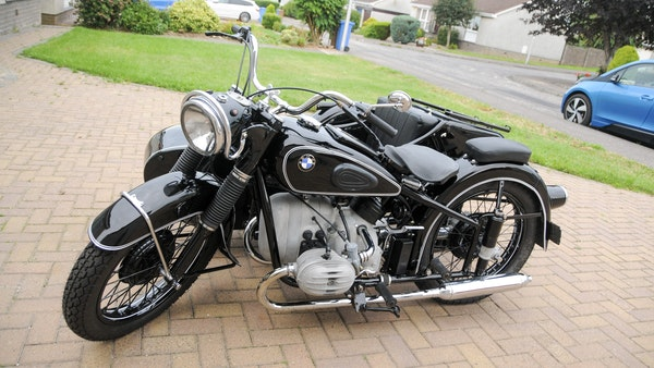 1953 BMW R68 with Royal Seitenwagen Sidecar For Sale (picture 8 of 99)