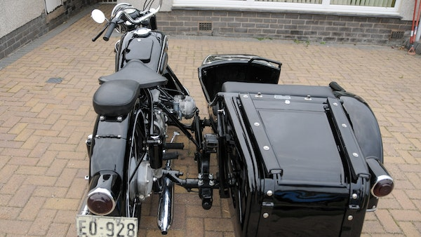 1953 BMW R68 with Royal Seitenwagen Sidecar For Sale (picture 11 of 99)