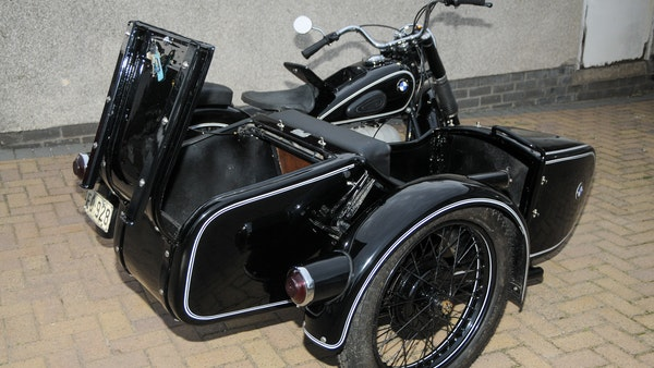 1953 BMW R68 with Royal Seitenwagen Sidecar For Sale (picture 49 of 99)