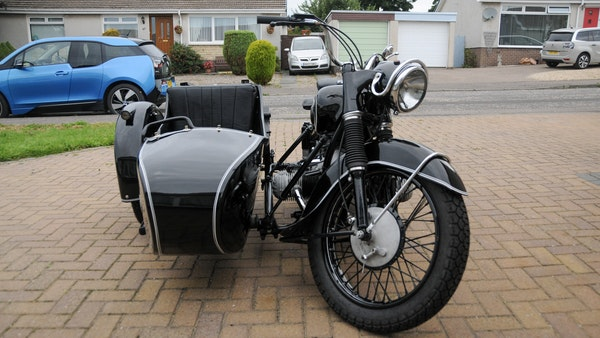 1953 BMW R68 with Royal Seitenwagen Sidecar For Sale (picture 7 of 99)