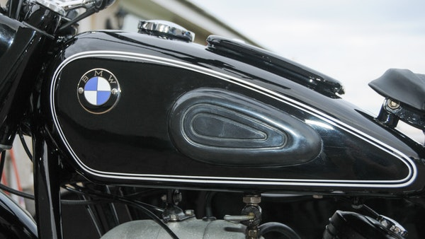 1953 BMW R68 with Royal Seitenwagen Sidecar For Sale (picture 43 of 99)
