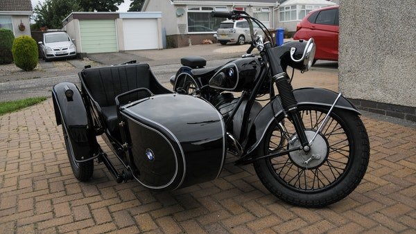 1953 BMW R68 with Royal Seitenwagen Sidecar For Sale (picture 6 of 99)