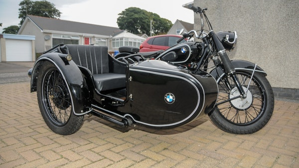 1953 BMW R68 with Royal Seitenwagen Sidecar For Sale (picture 12 of 99)