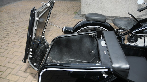 1953 BMW R68 with Royal Seitenwagen Sidecar For Sale (picture 47 of 99)