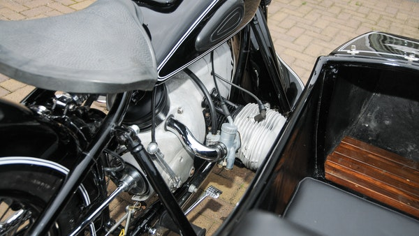 1953 BMW R68 with Royal Seitenwagen Sidecar For Sale (picture 59 of 99)