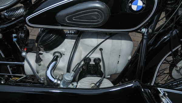 1953 BMW R68 with Royal Seitenwagen Sidecar For Sale (picture 83 of 99)