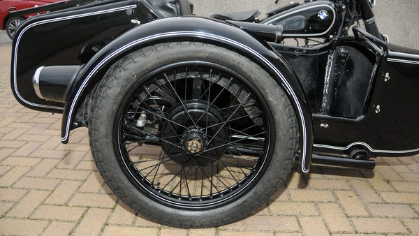 1953 BMW R68 with Royal Seitenwagen Sidecar For Sale (picture 19 of 99)