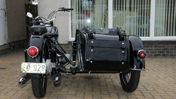 1953 BMW R68 with Royal Seitenwagen Sidecar For Sale (picture 16 of 99)