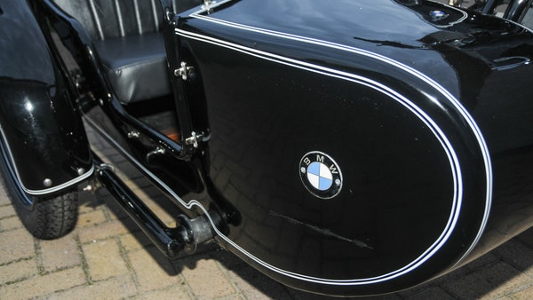 1953 BMW R68 with Royal Seitenwagen Sidecar For Sale (picture 53 of 99)