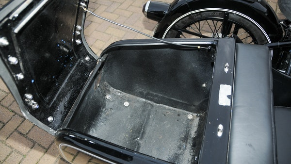 1953 BMW R68 with Royal Seitenwagen Sidecar For Sale (picture 48 of 99)
