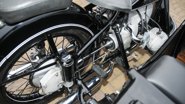 1953 BMW R68 with Royal Seitenwagen Sidecar For Sale (picture 58 of 99)