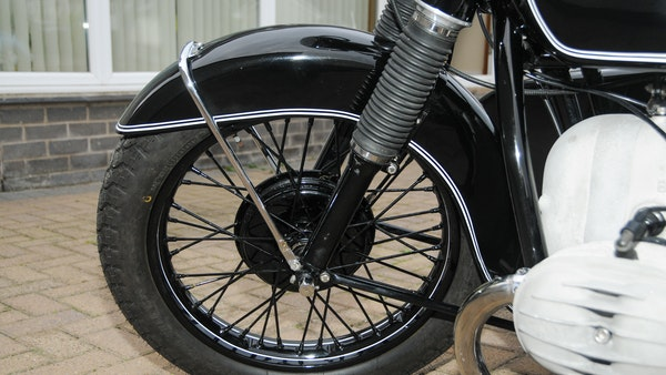 1953 BMW R68 with Royal Seitenwagen Sidecar For Sale (picture 17 of 99)
