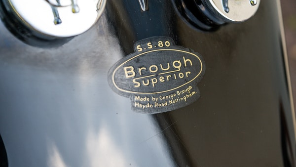 1936 Brough Superior SS80 For Sale (picture 28 of 147)