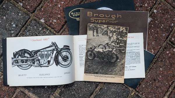 1936 Brough Superior SS80 For Sale (picture 141 of 147)