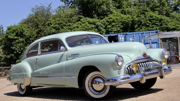 1948 Buick Super Eight Fireball Sedanette Coupé For Sale (picture 1 of 72)