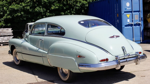 1948 Buick Super Eight Fireball Sedanette Coupé For Sale (picture 8 of 72)