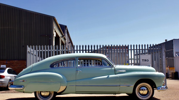 1948 Buick Super Eight Fireball Sedanette Coupé For Sale (picture 14 of 72)