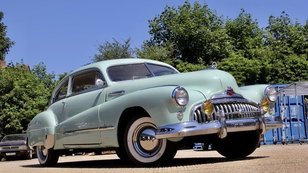 1948 Buick Super Eight Fireball Sedanette Coupé For Sale (picture 17 of 72)
