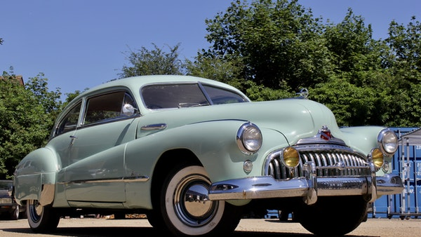 1948 Buick Super Eight Fireball Sedanette Coupé For Sale (picture 16 of 72)
