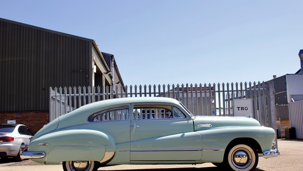 1948 Buick Super Eight Fireball Sedanette Coupé For Sale (picture 13 of 72)