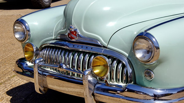 1948 Buick Super Eight Fireball Sedanette Coupé For Sale (picture 46 of 72)