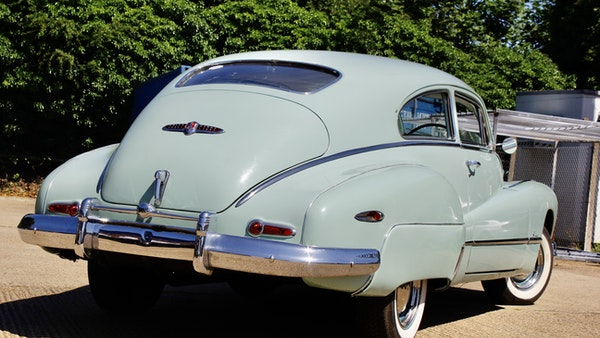 1948 Buick Super Eight Fireball Sedanette Coupé For Sale (picture 12 of 72)