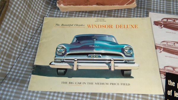 RESERVE LOWERED - 1954 Chrysler Windsor Deluxe For Sale (picture 59 of 62)
