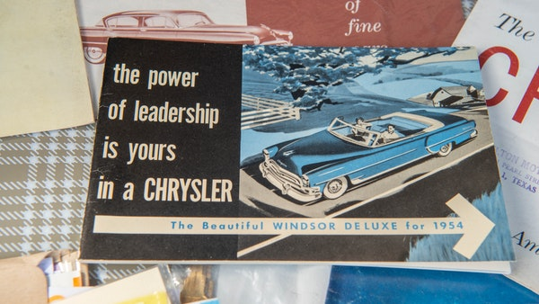 RESERVE LOWERED - 1954 Chrysler Windsor Deluxe For Sale (picture 109 of 111)