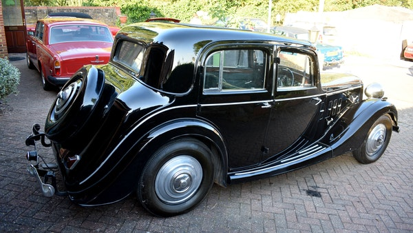 1935 Crossley Regis Six Saloon For Sale (picture 13 of 119)