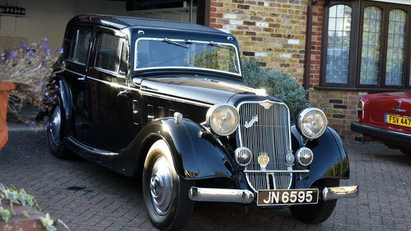 1935 Crossley Regis Six Saloon For Sale (picture 5 of 119)