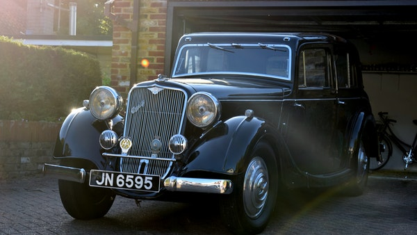 1935 Crossley Regis Six Saloon For Sale (picture 1 of 119)
