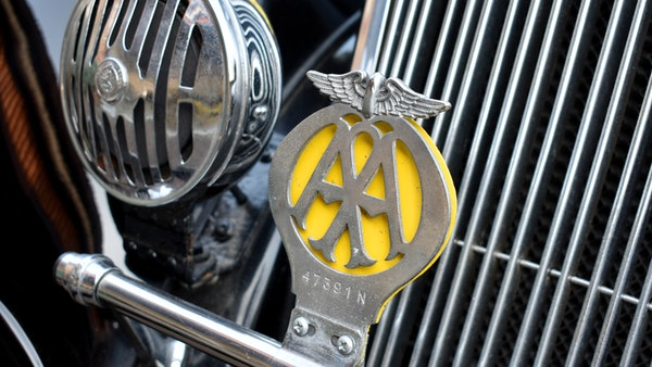 1935 Crossley Regis Six Saloon For Sale (picture 49 of 119)