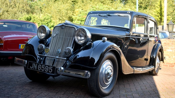1935 Crossley Regis Six Saloon For Sale (picture 3 of 119)