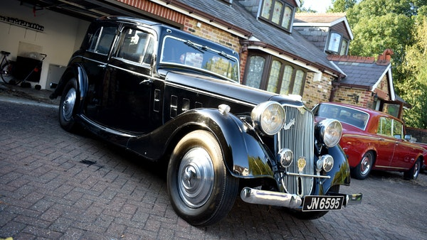 1935 Crossley Regis Six Saloon For Sale (picture 6 of 119)