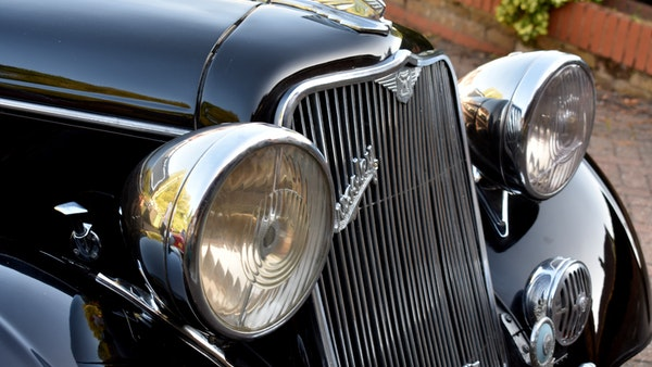 1935 Crossley Regis Six Saloon For Sale (picture 57 of 119)
