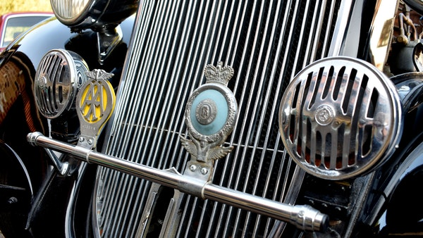 1935 Crossley Regis Six Saloon For Sale (picture 47 of 119)