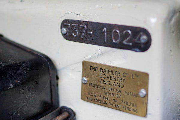 1961 Daimler SP250 'Dart' For Sale (picture 82 of 112)