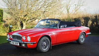 1976 Daimler Double Six Avon-Stevens Convertible