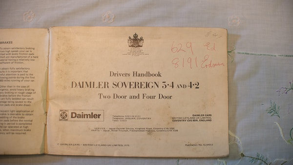 1974 Daimler Sovereign For Sale (picture 230 of 241)