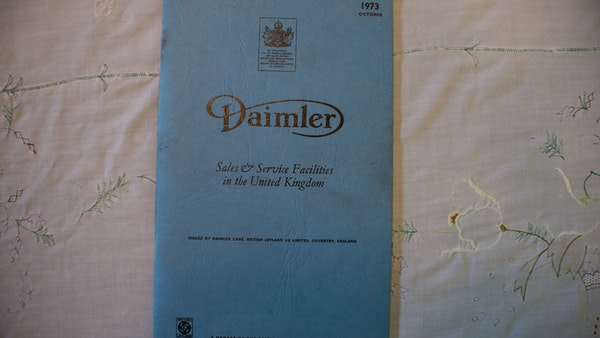 1974 Daimler Sovereign For Sale (picture 234 of 241)
