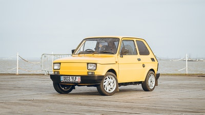 RESERVE LOWERED - 1986 Fiat 126