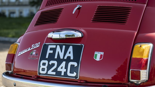 1965 Fiat 500 For Sale (picture 102 of 156)