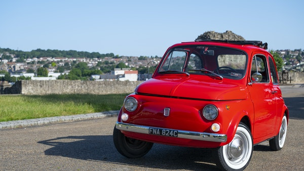 1965 Fiat 500 For Sale (picture 6 of 156)